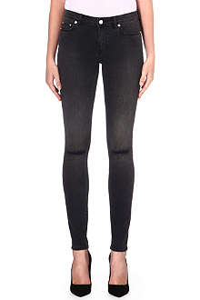 BLK DNM 26 skinny low-rise distressed jeans
