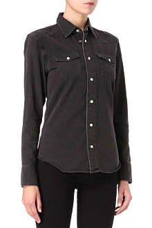 BLK DNM Western denim shirt