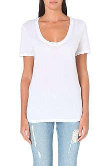 FRAME Le Classic cotton-jersey t-shirt