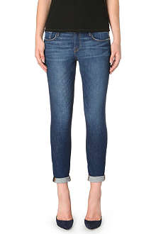 FRAME Le Garcon skinny mid-rise jeans