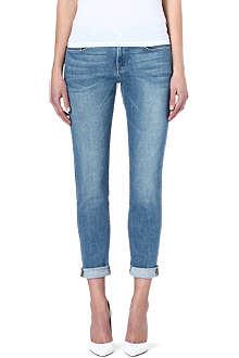 FRAME Le Garcon boyfriend mid-rise jeans