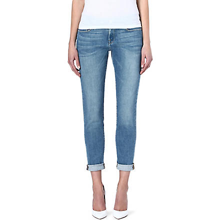 FRAME Le Garcon boyfriend mid-rise jeans (Exmouth