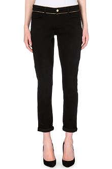 FRAME Le Garcon slim-fit mid-rise jeans