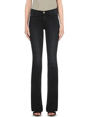 FRAME Le High flared high-rise jeans