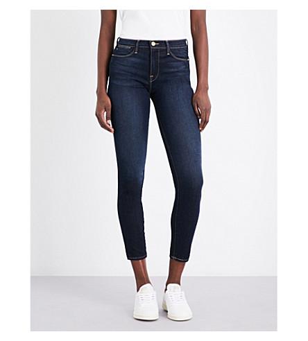 FRAME Le High Skinny high-rise jeans (Edgeware