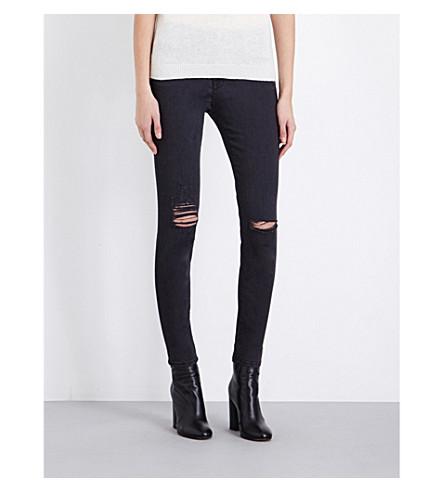 FRAME Le High Skinny high-rise jeans (Tillery