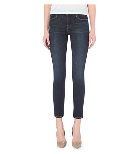 FRAME Le High skinny high-rise jeans (Altair