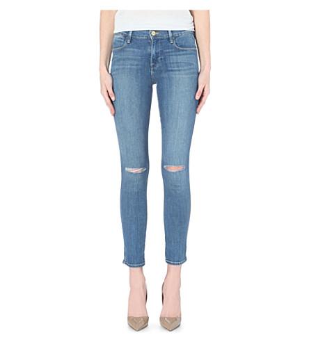 FRAME Le High skinny high-rise jeans (Paloma