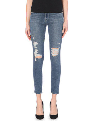 FRAME Le High skinny high-rise jeans