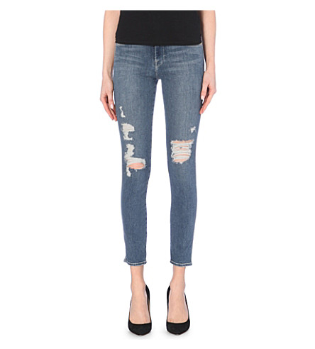 FRAME Le High skinny high-rise jeans (Seeley