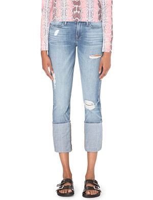 FRAME Le High slim-fit high-rise jeans