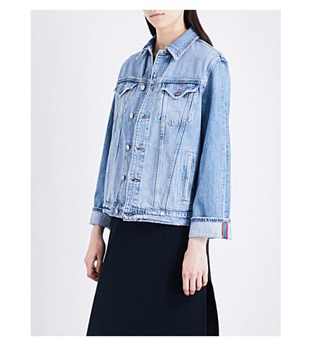 FRAME Le Oversized denim jacket (Canyon+cove