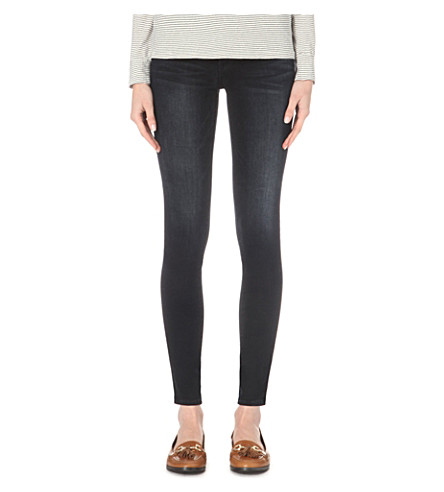 FRAME Le Skinny de Jeanne skinny mid-rise jeans (Manor+ave