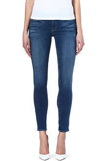 FRAME Le Skinny de Jeanne skinny mid-rise jeans