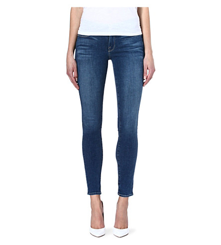 FRAME Le Skinny de Jeanne skinny mid-rise jeans (Culver
