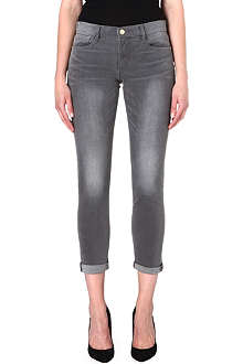 FRAME Le Skinny de Jeanne mid-rise jeans