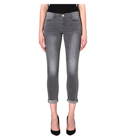 FRAME Le Skinny de Jeanne mid-rise jeans (Greyson