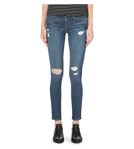 FRAME Le Skinny de Jeanne skinny mid-rise jeans (Walford