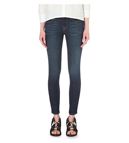FRAME Le Skinny cropped mid-rise jeans (Lennox