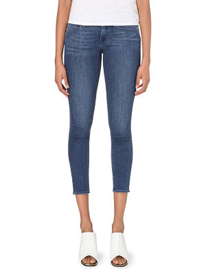 FRAME Le Skinny de Jeanne mid-rise cropped jeans