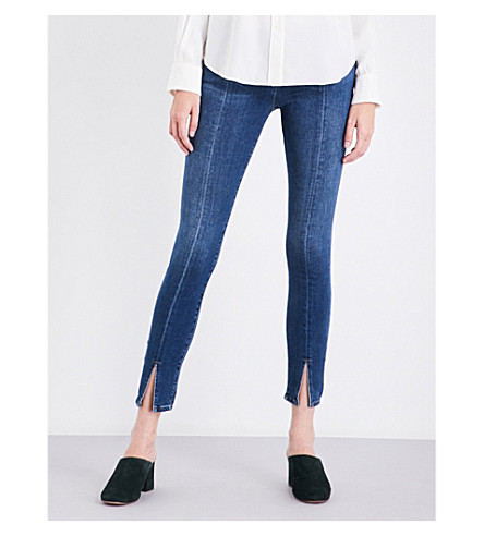 FRAME Le Skinny de Jeanne skinny mid-rise jeans (Tuckahoe