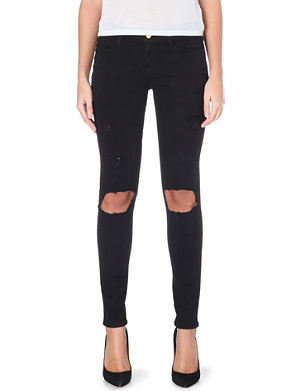 FRAME Le Skinny de Jeanne mid-rise stretch-denim jeans