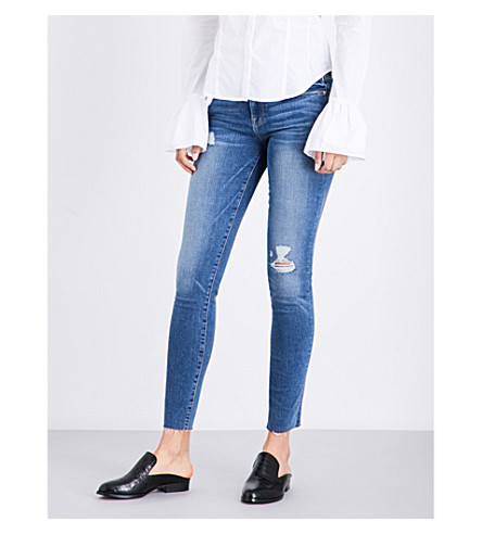FRAME Le Skinny De Jeanne cropped skinny mid-rise jeans (Arenas