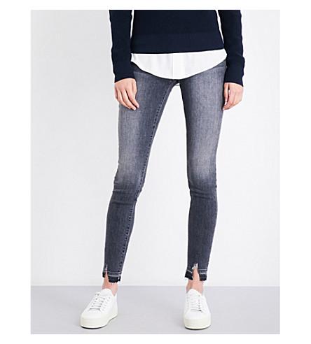 FRAME Le Skinny de Jeanne released-hem skinny mid-rise jeans (Gotham