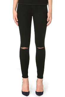 FRAME Le Stacked skinny mid-rise jeans
