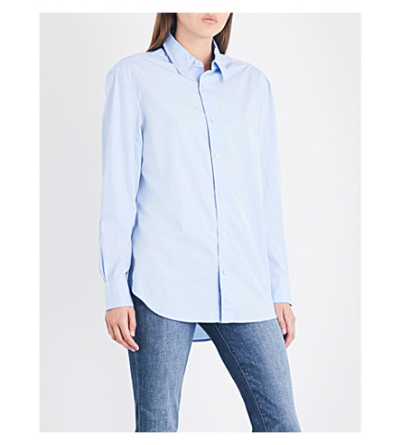 FRAME Relaxed-fit cotton shirt (Bayou