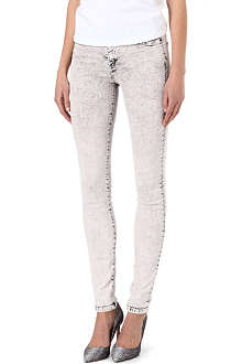 KILL CITY Hi Wire skinny high-rise jeans