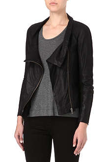 MUUBAA Castor leather jacket