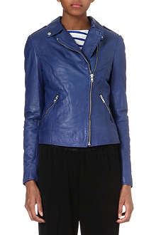 MUUBAA Carmona leather biker jacket