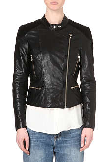 MUUBAA Yarra leather biker jacket