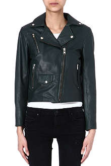 MUUBAA Mosman leather biker jacket