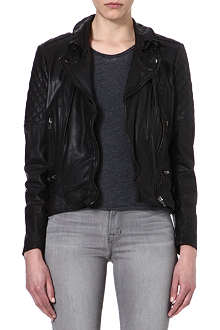 MUUBAA Rokel leather biker jacket