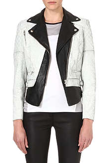 MUUBAA Tugela leather biker jacket