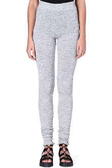 FREE PEOPLE Heather knit leggings