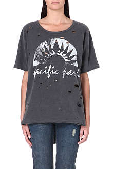 FREE PEOPLE Graphic boyfriend tee