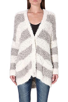 FREE PEOPLE Oversized stripe cardigan