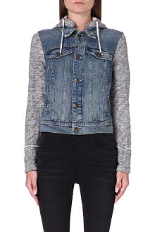 FREE PEOPLE Faded denim jacket