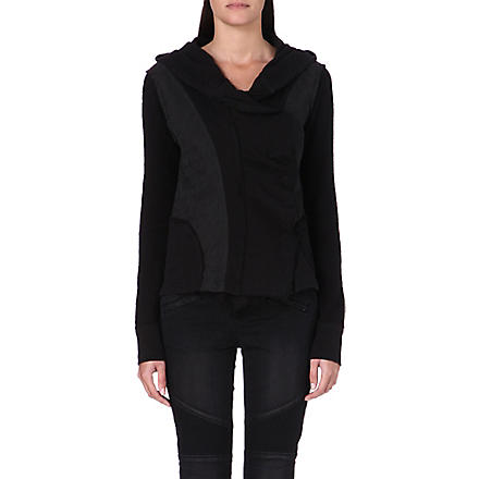 FREE PEOPLE Contrast panel jacket (Black