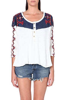 FREE PEOPLE Rio Henley top