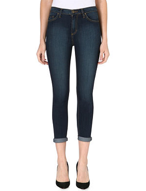 FREE PEOPLE Faded cropped jeans