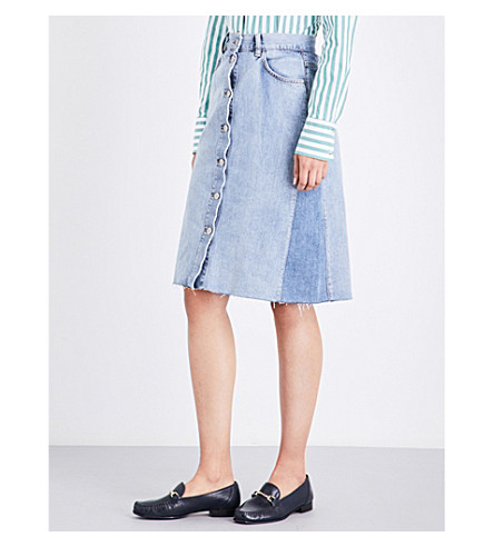 MIH JEANS Park denim skirt (Redo+rod
