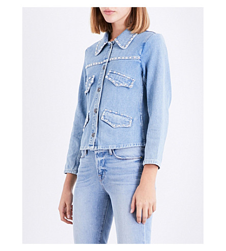 MIH JEANS Otherwild denim jacket (Otherwild