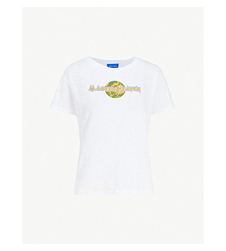 MIH JEANS Made in Heaven cotton-jersey T-shirt (White