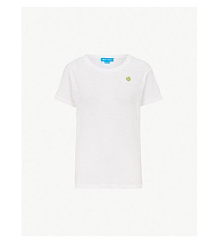 MIH JEANS 土绣平纹针织棉 T 恤 (地球