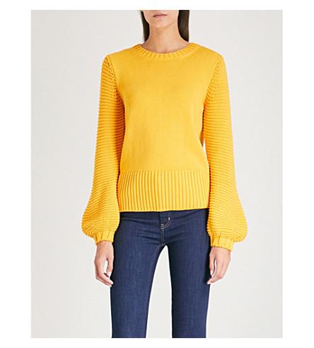 MIH JEANS Lova knitted jumper (Saffron
