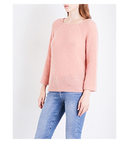 MIH JEANS Bowen knitted jumper (Pale+rose